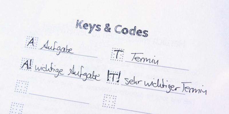 MemoMe. Planer Keys2