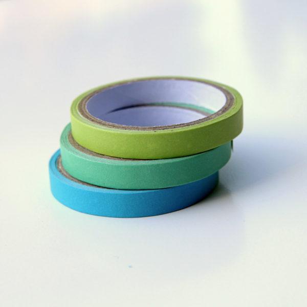 MemoMe. Planer Masking Tape gruen blau