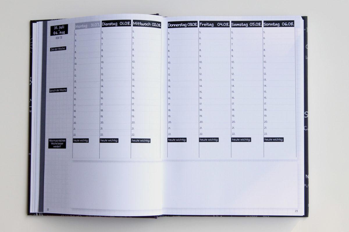 MemoMe. Planer Wochenkalender