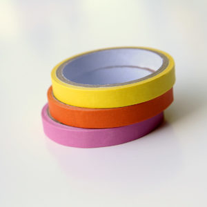 MemoMe. Planer Masking Tape gelb orange