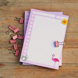 MemoMe Block ToDo Flamingo