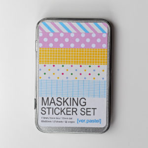 MemoMe MaskingSticker_Pastel