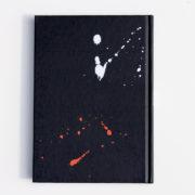 MemoME. Planer 2018 Black Splatter hinten