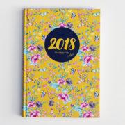 MemoME. Planer 2018 Millefleurs slim