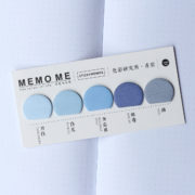 MemoMe Index Sticker blau