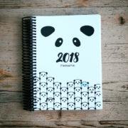 MemoME. Planer Ringbuch_Panda_Holz