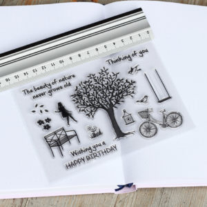 MemoME. Clearstamps Stempel Baum