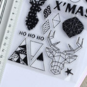 MemoME.  Clearstamps Stempel Christmas