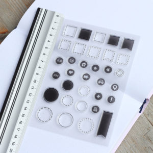 MemoME. Clearstamps Stempel Dots_Squares
