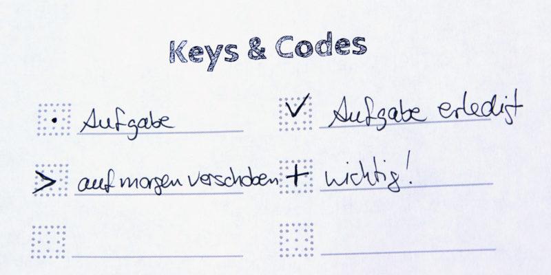 MemoMe. Planer Keys1