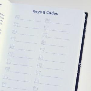 MemoMe. Planer Keys&Codes