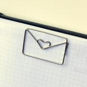 MemoMe. Büroklammer Brief groß