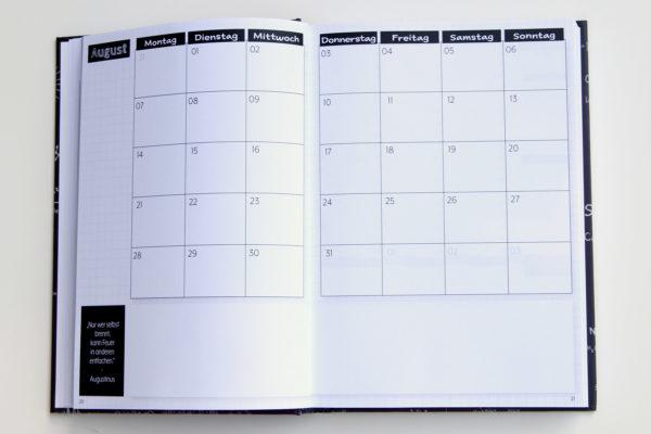MemoMe. Planer Monatskalender