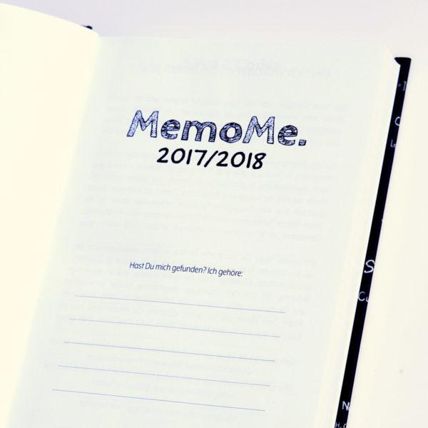 MemoMe. Startseite Planer