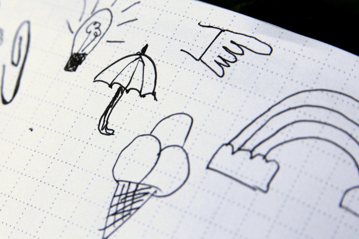 MemoMe. Doodles Sketchnotes