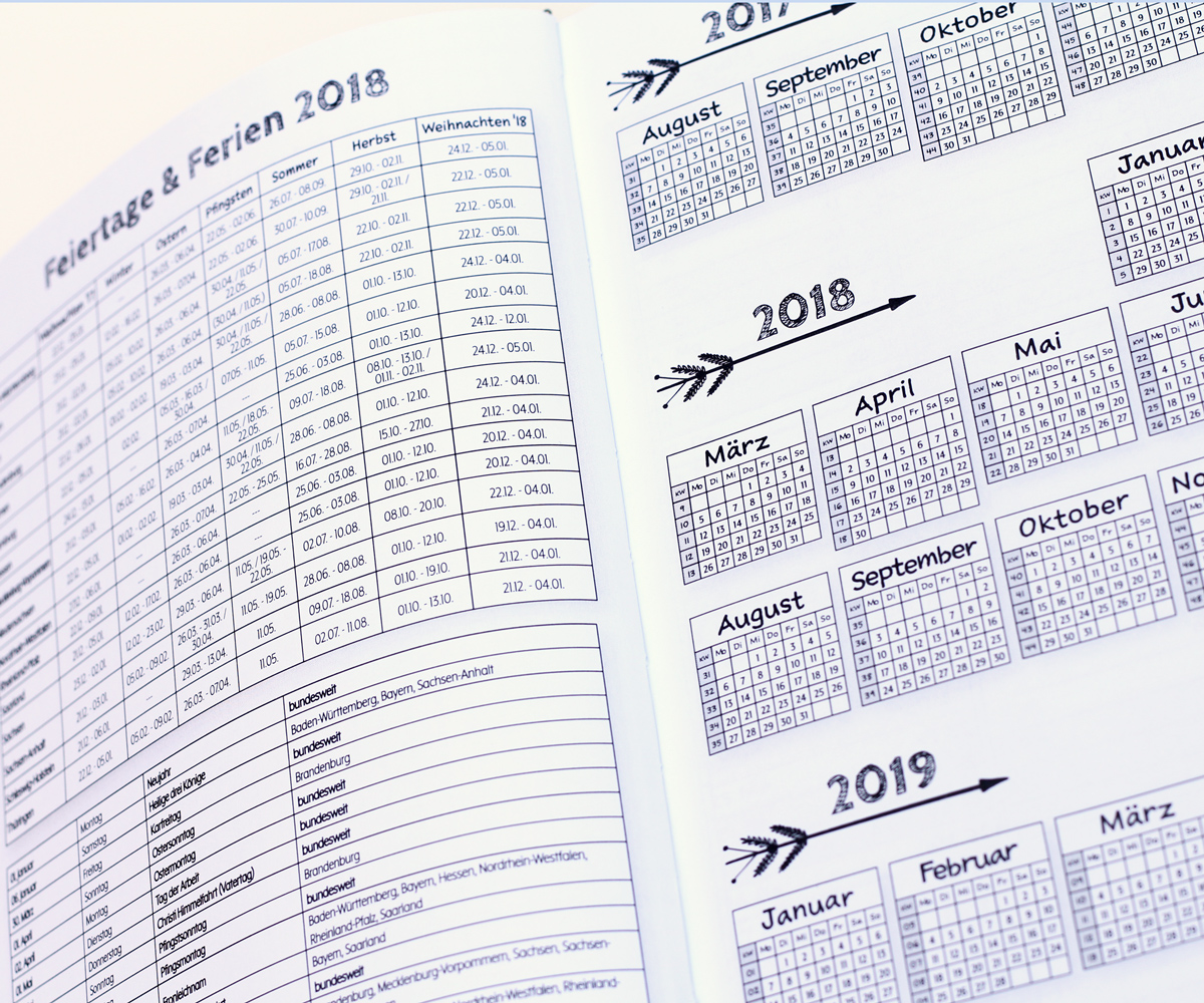 MemoME. 2018 Kalender