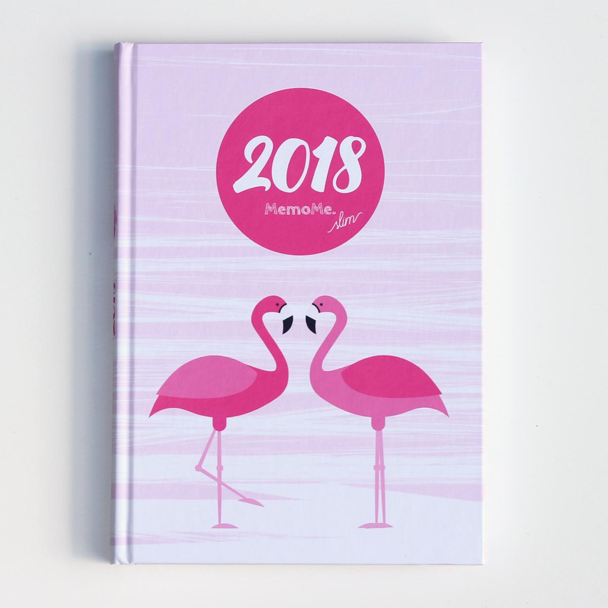 MemoME. Planer 2018 Flamingo slim