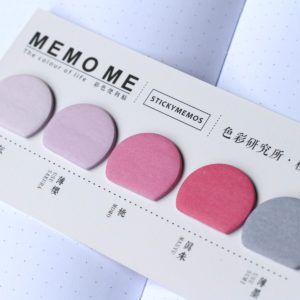 MemoMe Index Sticker rosa