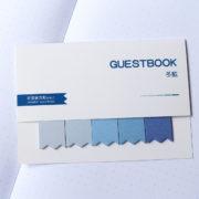MemoMe Bookmark Sticker blau