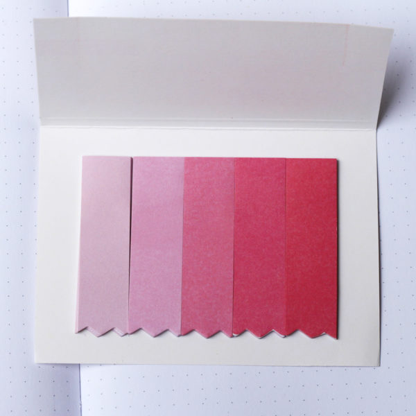 MemoMe Bookmark Sticker rosa