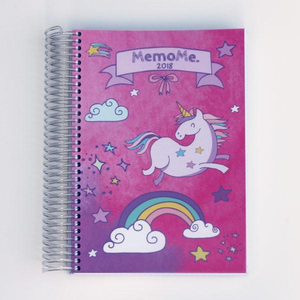 MemoMe. planer Ringbuch Einhorn