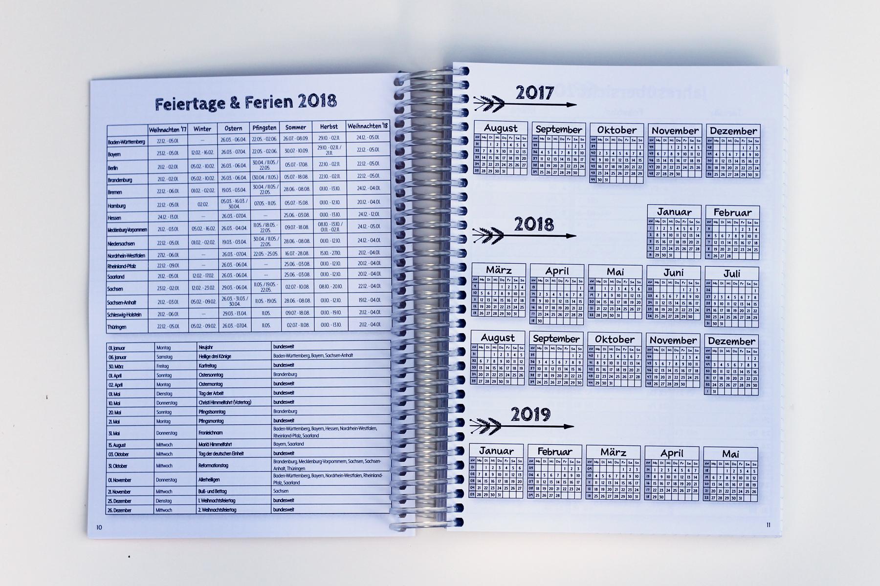 MemoME. Planer Kalender Ringbuch