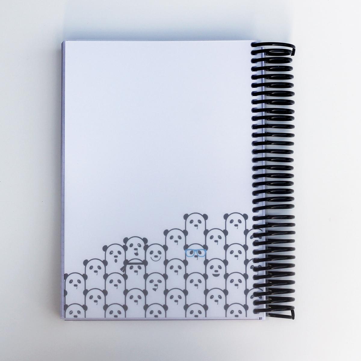 MemoMe. planer Ringbuch Panda