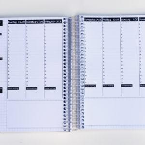 MemoME. Planer Wochenplaner Ringbuch