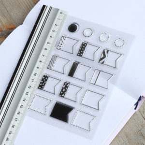 MemoME. Clearstamps Stempel Bookmarks