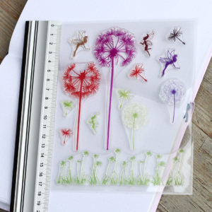 MemoME. Clearstamps Stempel Pusteblume